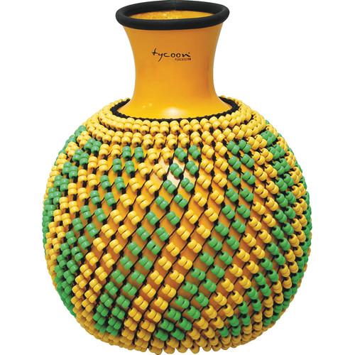 Tycoon Percussion Fiberglass Shekere (Yellow)