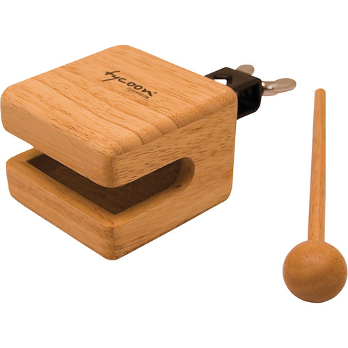 "Tycoon Percussion 3.5"" Temple Wood Block"