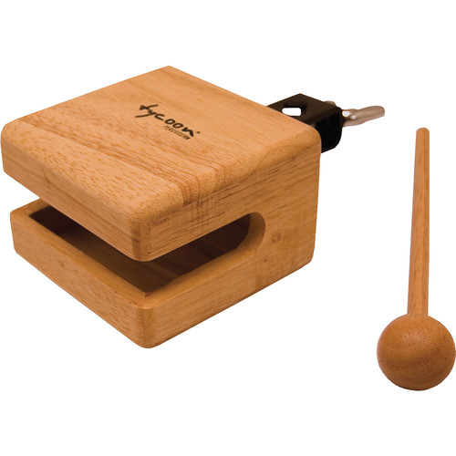 "Tycoon Percussion 4"" Temple Wood Block"