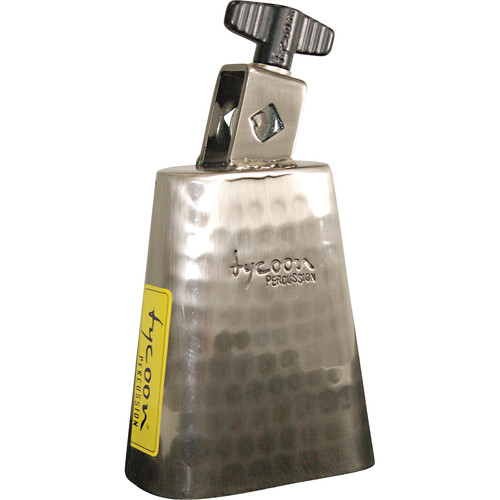 """Tycoon Percussion 4.5"""" Mountable Cowbell (Hand Hammered)"""