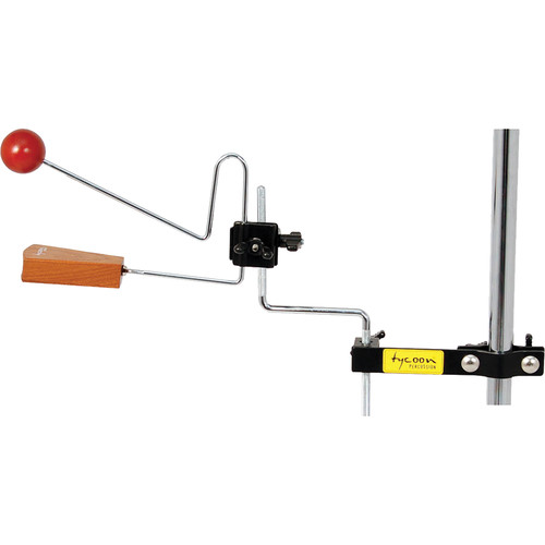 Tycoon Percussion Rattle Clap Mounting Bracket (Black powder)