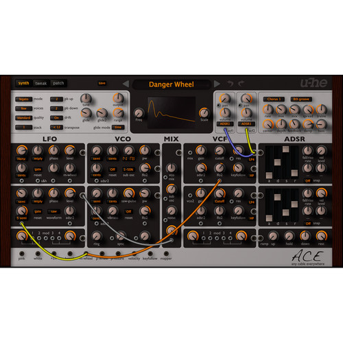 u-he ACE: Any Cable Everywhere Semi-Modular Software Synth (Download)