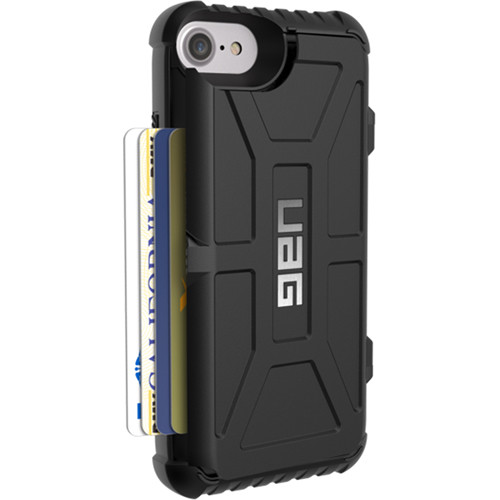 Urban Armor Gear Trooper Card Case for iPhone 6/6s/7/8 (Black)