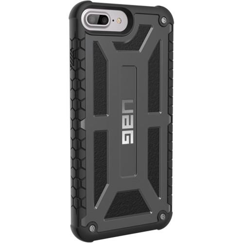 Urban Armor Gear Monarch Case for iPhone 6 Plus/6s Plus/7 Plus/8 Plus (Graphite)