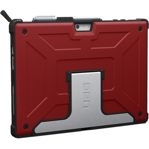 Urban Armor Gear Case for Microsoft Surface Pro and Pro 4 (Magma Red)