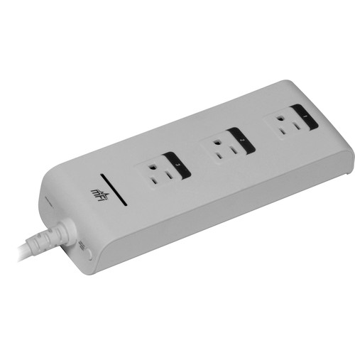 Ubiquiti Networks mPower mFi Power Strip with Wi-Fi Connectivity (3-Outlet)