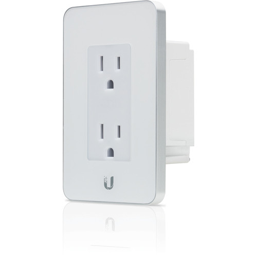 Ubiquiti Networks mFi-MPW-W In-Wall Manageable Outlet for mFi Management System (White)