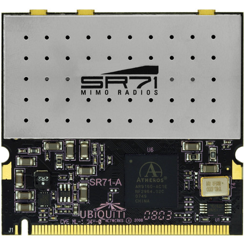 Ubiquiti Networks SR71-A Outdoor 3x3 802.11n MIMO mini-PCI Module