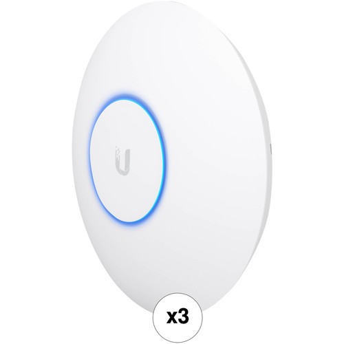 Ubiquiti Networks UAP-AC-HD-US Wave 2 Enterprise Wi-Fi Access Point (3-Pack)