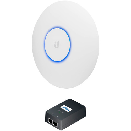 Ubiquiti Networks UAP-AC-PRO-E UniFi Access Point Enterprise Wi-Fi System with PoE Adapter