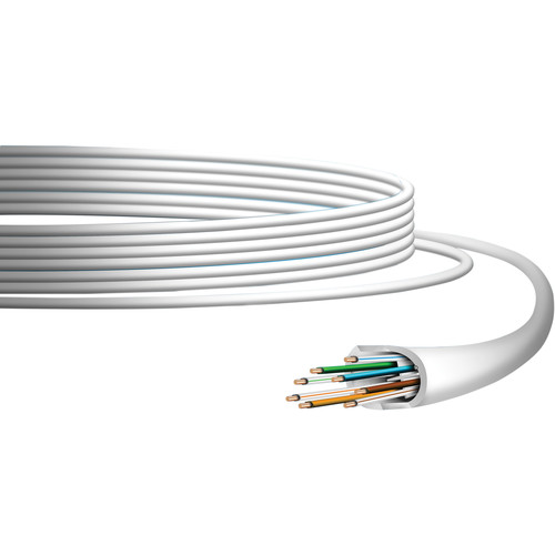 Ubiquiti Networks UniFi Cat 6 Indoor Ethernet Cable (1,000', White)