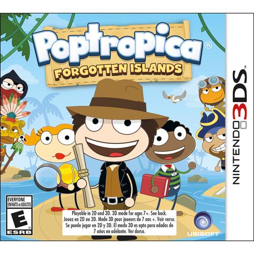 Ubisoft Poptropica Forgotten Islands (Nintendo 3DS)