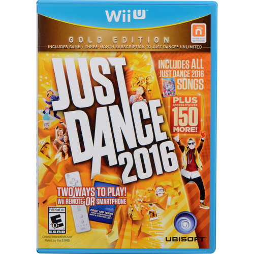 Ubisoft Just Dance 2016 Gold Edition (Wii U)