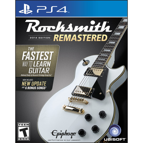 Ubisoft Rocksmith 2014 Edition - Remastered (PS4)