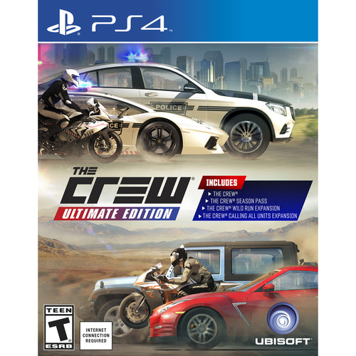 Ubisoft The Crew Ultimate Edition (PS4)