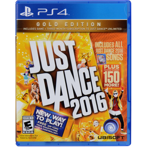 Ubisoft Just Dance 2016 Gold Edition (PS4)
