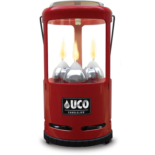 UCO Candlelier Candle Lantern (Red)
