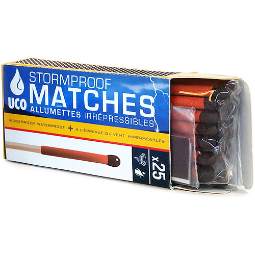 UCO Stormproof Matches (25-Pack)