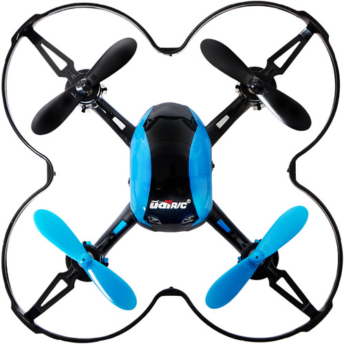 UDI RC U839 Nano Quadcopter (Blue)