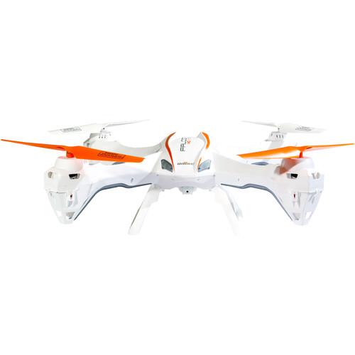 UDI RC U842 FALCON Quadcopter with HD Camera (White)