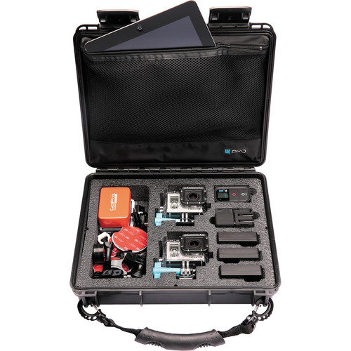 UKPro POV40 Waterproof Case for GoPro HERO Camera and Accessories (with Hand Strap)