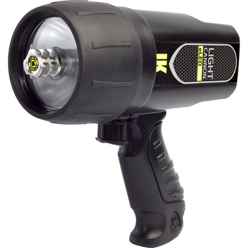 UKPro Light Cannon eLED Dive Light with Pistol Grip (Black)