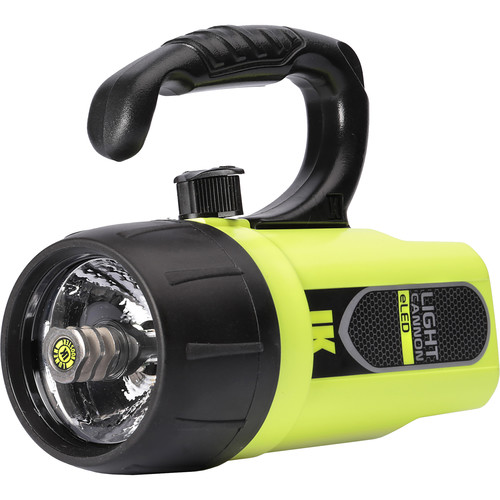 UKPro Light Cannon eLED Dive Light with Lantern Grip (Safety Yellow)