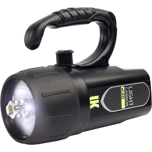 UKPro Light Cannon eLED Dive Light with Lantern Grip (Black)
