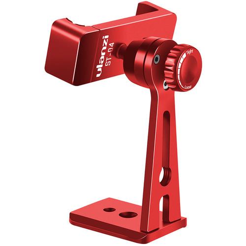 Ulanzi ST-04 360° Smartphone Tripod Mount (Red)