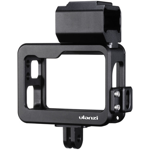 Ulanzi V3 Pro Vlogger Cage with 2 x Cold Shoes for GoPro 5/6/7