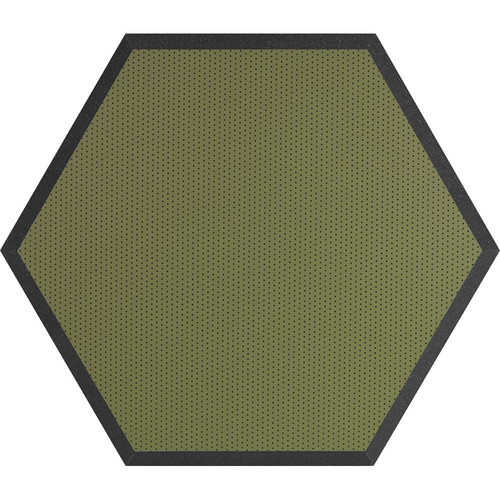 "Ultimate Acoustics UA-HX-24KW Hex Series Hexagon Foam Wall Panel 24"" Charcoal (Pair, Kiwi Vinyl)"
