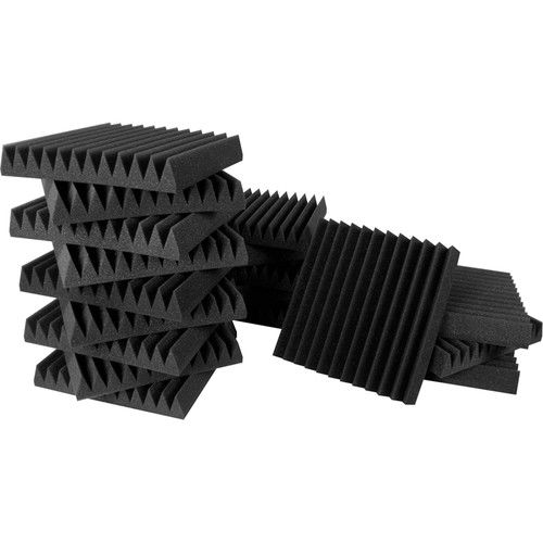 Ultimate Acoustics Studio Bundle I - 18-Piece Pack of Acoustic Foam Wedges