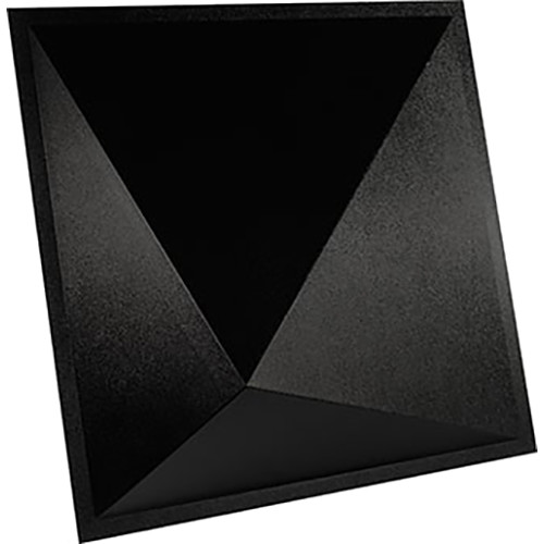 "Ultimate Acoustics UA-PYD-BP 24 x 24"" Pyramid-Shape Diffusor (4-Pack, Black)"