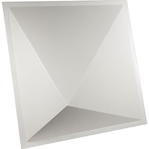 "Ultimate Acoustics UA-PYD-BP 24 x 24"" Pyramid-Shape Diffusor (4-Pack, White)"