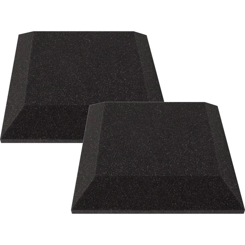 "Ultimate Acoustics 12 x 12 x 2"" Bevel Acoustic Panels (Pair)"