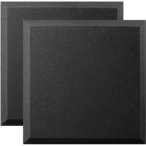 "Ultimate Acoustics 24 x 24 x 2"" Bevel Acoustic Panels (Pair)"