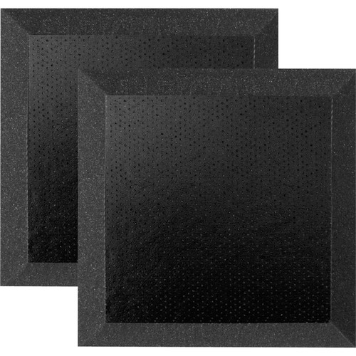 "Ultimate Acoustics 12 x 12 x 2"" Bevel Acoustic Panels with Vinyl (Pair)"
