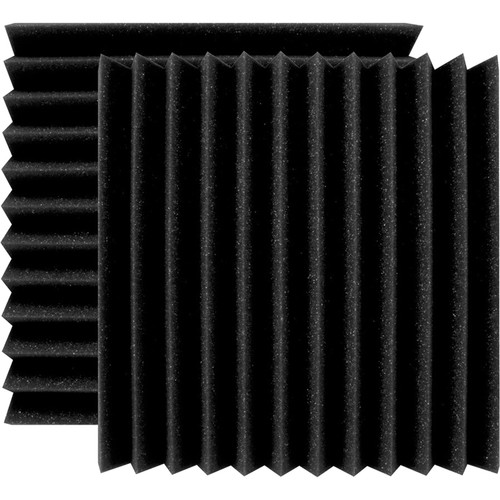 "Ultimate Acoustics 12 x 12 x 2"" Wedge-Style Acoustic Panels (Pair)"