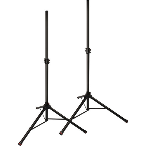 Ultimate Support JamStands TS50-2C Tripod Speaker Stands with Colored Accent Bands (Pair)