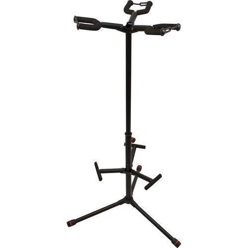 Ultimate Support JamStands JS-HG103C Triple Hanging-Style Guitar Stand with Colored Accent Bands