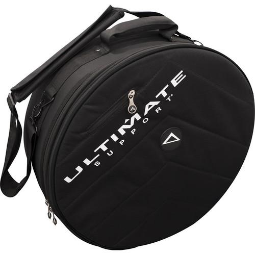 Ultimate Support USHB2-SN-BK - Hybrid Series 2.0 Snare Drum Bag (Black with Black Trim)