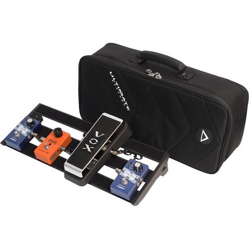 """Ultimate Support GSP-300-BK Genesis Pedalboard (Black, 20 x 8"""")"""