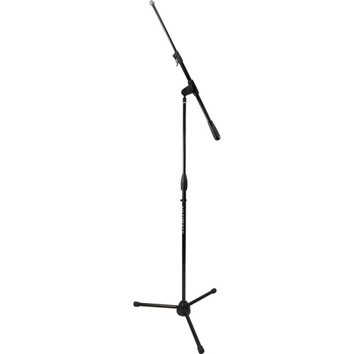 Ultimate Support Pro Series Pro-R-T-T Mic Stand with 1/4-Turn Clutch, Plastic Tripod Base/Standard Height/Telescoping Boom