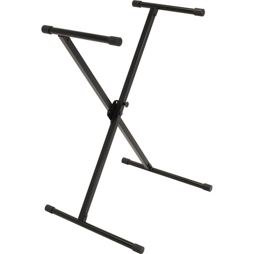 Ultimate Support IQ-X-1000 X-Style Keyboard Stand with Memory Lock System (Black)