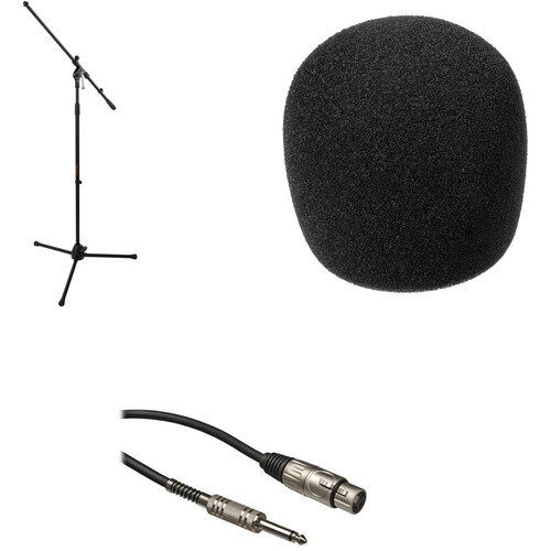 Auray Minus the Mic Kit - Boom Stand, Windscreen and Cable