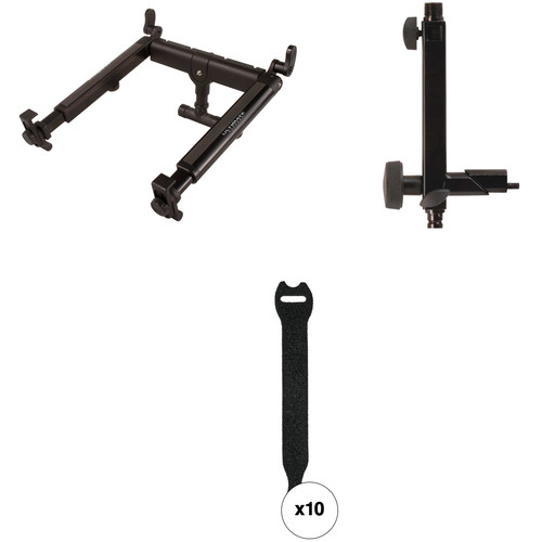 Ultimate Support Universal Laptop & DJ Stand Kit for X-Style Keyboard Stands