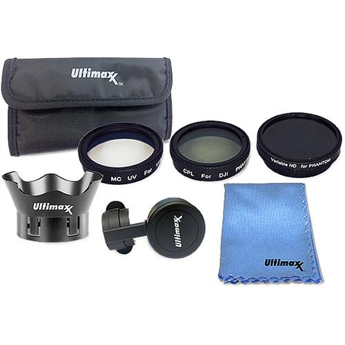 Ultimaxx Studio Series 7-Piece Filter Kit for DJI Phantom 4 Drones