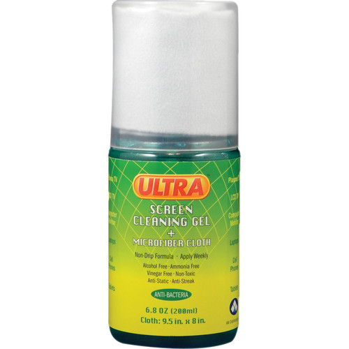 ULTRA SCREEN CLEANER USC-MFP Ultra Screen Cleaning Gel & Microfiber Cloth Combo