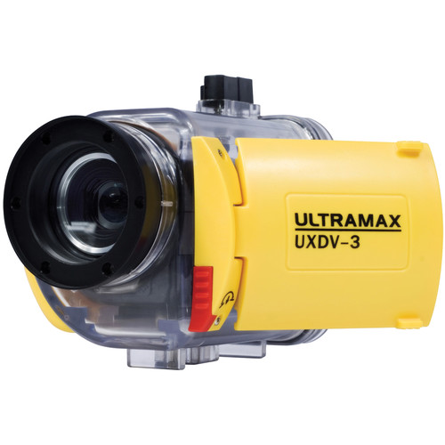 ULTRAMAX UXDV-3-DIVE HD 720p Digital Video Camera and Underwater Housing Package