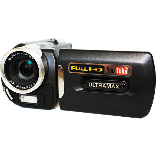 ULTRAMAX UXDV-3HD-CAM 1080p Digital Video Camera